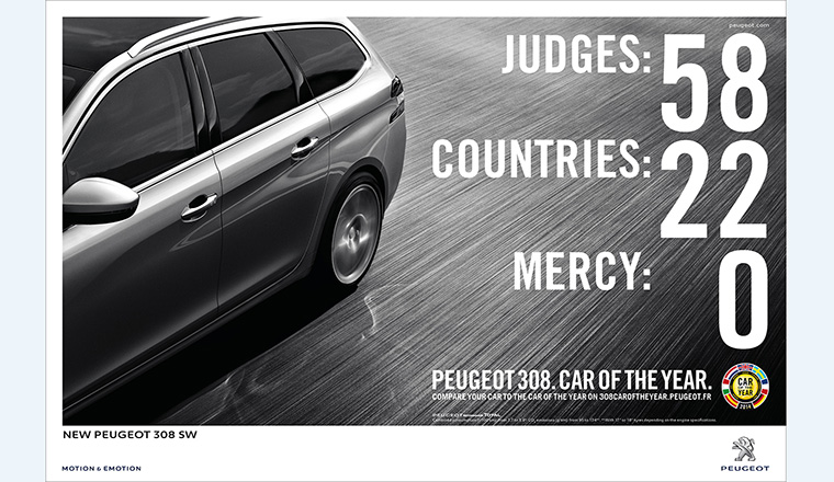 Annonceur : Peugeot 